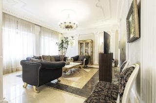 элитная 4-комнатная квартира с паркингом в аренду на Крестовском острове С-Петербург
