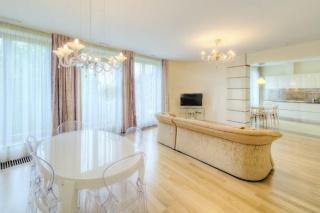 просторная стильная 4-комнатная квартира в аренду в Петроградском районе С-Петербург