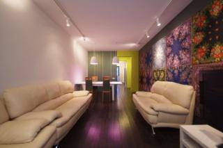 стильная 3-комнатная квартира с паркингом в аренду в новом ЖК С-Петербург