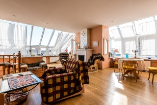 аренда видовой 4-комнатной квартиры с классическим дизайном Санкт-Петербург