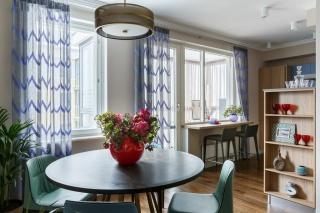 аренда новой 3-комнатной квартиры в Петроградском районе Санкт-Петербурга